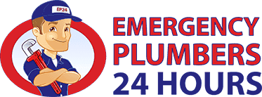 emergency plumbers 24 hours logo