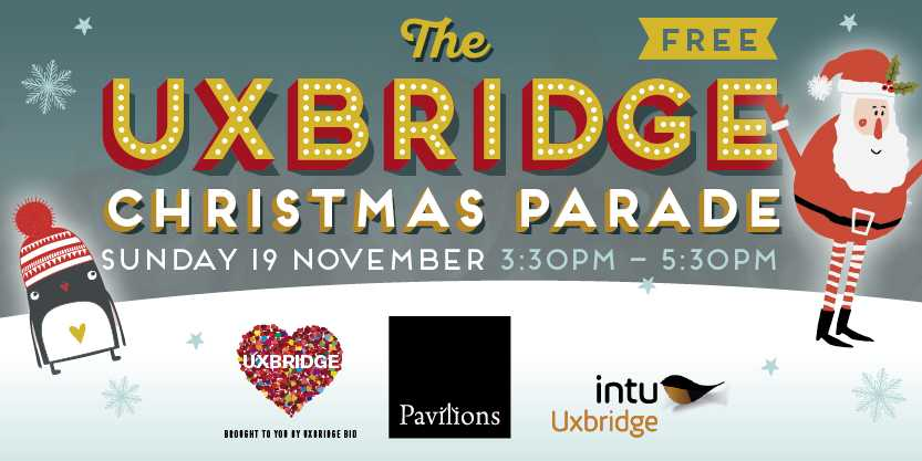 Intu Christmas Light Switch On and Parade
