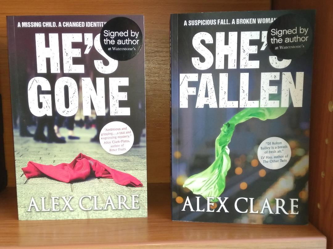 Crime Author Alex Clare Book Signing Waterstones My Uxbridge