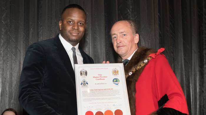 Uxbridge Engineer Recognised as Master Plumber