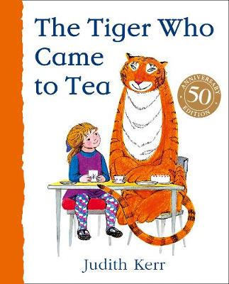 The tiger who came to tea - book cover