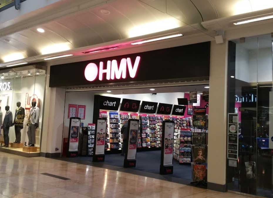 HMV Uxbridge closing