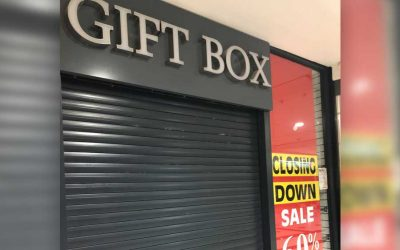 Gift Box, Uxbridge Closes after 37 years