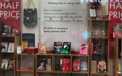 Waterstones closed for refurbishment