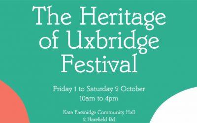 History & Heritage of Uxbridge Festival 2021